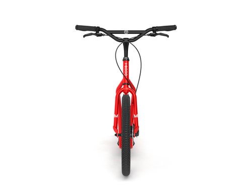 Yedoo New Mezeq Disc red Tretroller Dog Scooter mit Scheibenbremsen  – Bild 3