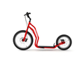 Yedoo New Mezeq Disc red Tretroller Dog Scooter mit Scheibenbremsen