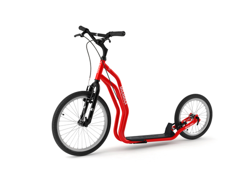 Yedoo Mula V-Brake red Tretroller Dog Scooter  – Bild 1