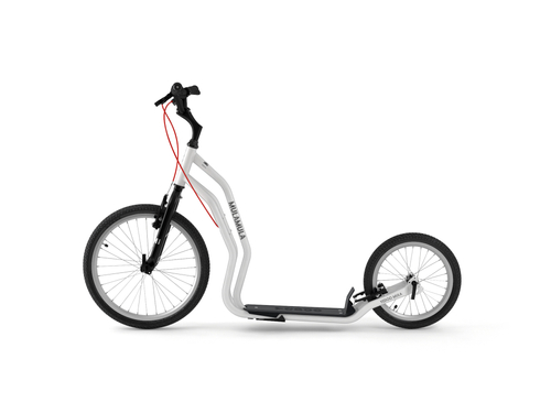 Yedoo Mula V-Brake white Tretroller Dog Scooter  – Bild 2