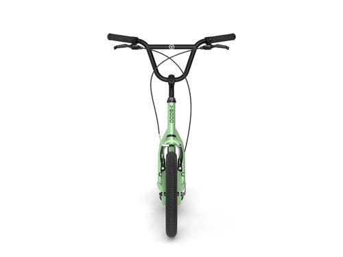 "Yedoo New City  16"" 12"" Tretroller Erwachsene und Kids neue Farbe green – Bild 3"