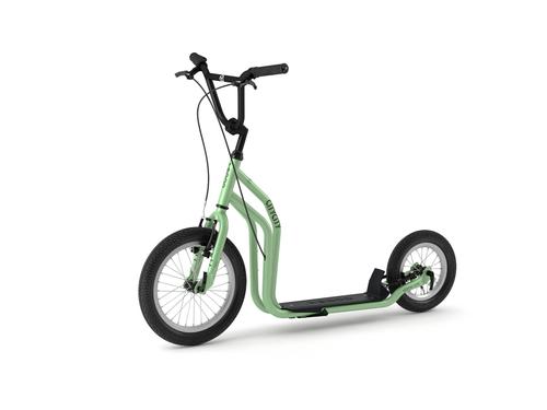 "Yedoo New City  16"" 12"" Tretroller Erwachsene und Kids neue Farbe green – Bild 1"