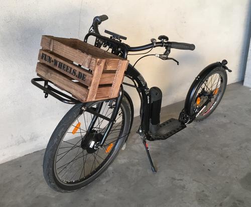 """Kickbike E-Cruise Max Black 26""""20"""" aus Sponsoring Landesgartenschau Bad Schwalbach – Bild 1"""