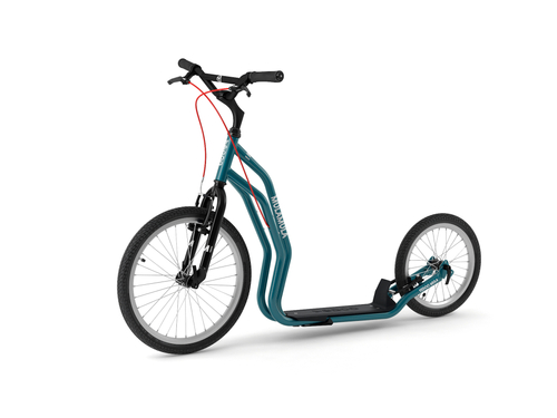 Yedoo Mula Run Run V-Brake blue Tretroller Dog Scooter
