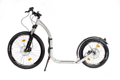 "Kickbike Cross Max 20 HD + Aluminium 26"" 20"" Federgabel Hydraulic Disc – Bild 2"
