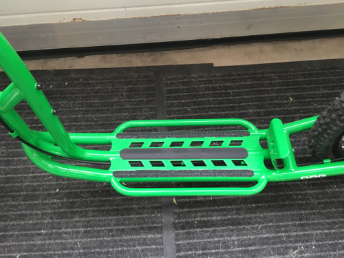 "Morxes Dog R Dogscooter green 26"" 20"" Federgabel Disc Hydraulic – Bild 3"