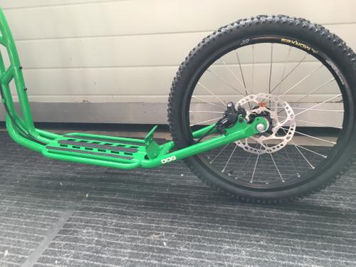 "Morxes Dog R Dogscooter green 26"" 20"" Federgabel Disc Hydraulic – Bild 4"