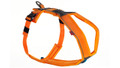 Non-stop Line Harness Hundegeschirr Klippverschluß orange