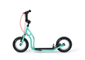 Yedoo New Tidit teal-blue Tretroller 12  Luftreifen Felgenbremse für Coole Kids