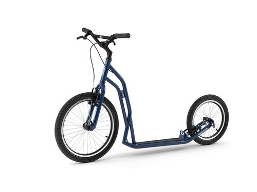 Yedoo Steel S2016 Tretroller blue der Sport Roller für Erwachsene und Kids ! Brandneu !