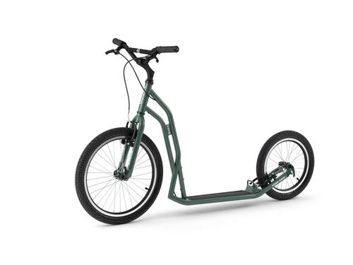 Yedoo Steel S2016 Tretroller green der Sport Roller für Erwachsene und Kids ! Brandneu !