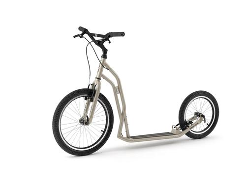 Yedoo Steel S2016 Tretroller silvergold der Sport Roller für Erwachsene und Kids ! Brandneu ! – Bild 1