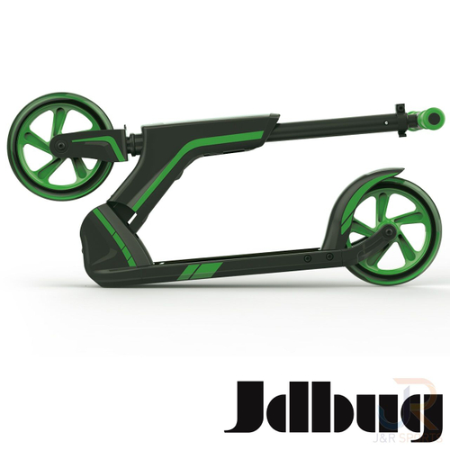 JD BUG SMART 185 BLACK-GREEN KICKSCOOTER – Bild 2