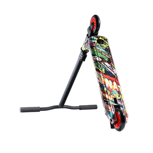 JD Bug 119TC Graffiti Kickscooter Stuntscooter – Bild 1