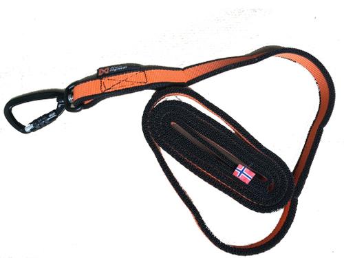 Bungee Leash 2,oo mtr Jöringleine Canicross  Non-Stop Dogwear 1640 orange – Bild 1