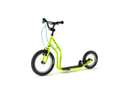 Yedoo New Wzoom 16  12  Tretroller  Lime  Kickscooter for cool Girls and Boys