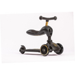 Scoot and Ride Highwaykick 1 Kickscooter Laufrad black-gold