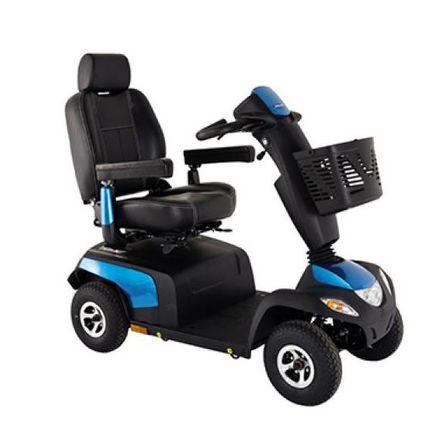 Invacare Orion PRO, 4-Rad-E-Mobil, Elektromobil 10 km/h, ein saphirblaues Seniorenmobil