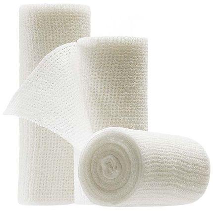 Mollelast 8cm x 4m (K=20 Binden lose), elastische Binde für Fixierverbände aller Art