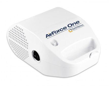DeVilbiss AirForce One Inhalationsgerät, Kompressorvernebler zur Aerosol Therapie, für Erwachsene & Kinder