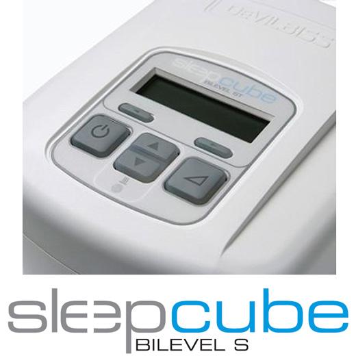 DeVilbiss Sleepcube BiLevel S CPAP-Gerät