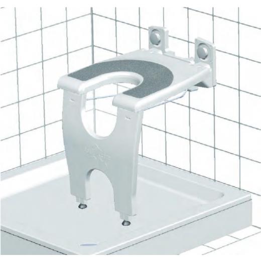 Antirutschauflage für varioporto höhenverstellbar, bis 130kg belastbar