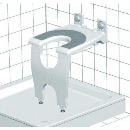 Antirutschauflage für varioporto höhenverstellbar, bis 130kg belastbar 001