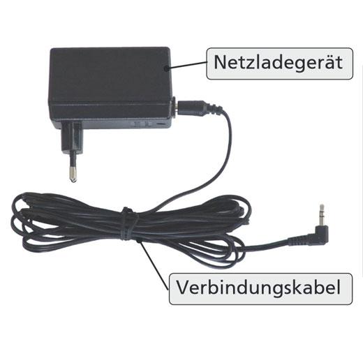 AKS Ladegerät für AKS Patientenlifter (Foldy, Clino II, Foldo, Dualo) Original Netzladegerät inkl. Verbindungskabel
