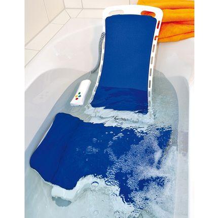 Badewannenlifter Bellavita 2G Comfort blau, inkl. Comfort-Bezugsset