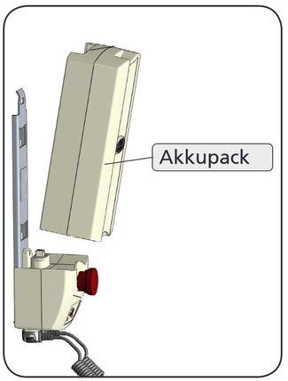 AKS Wechsel-Akkukasten für aks-wandladestation 89174, auch als Ersatz-Akku für aks-torneo II