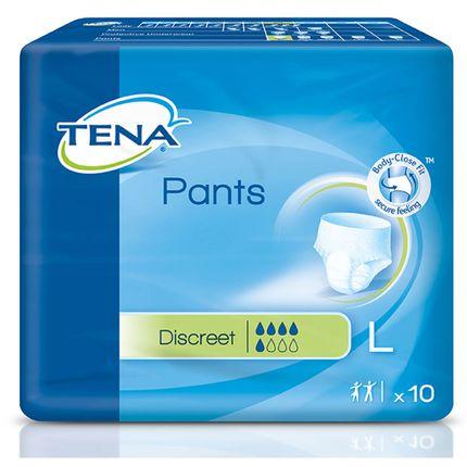 Tena Pants Discreet Large (10 Stück ) für mittlerer  Blasenschwäche