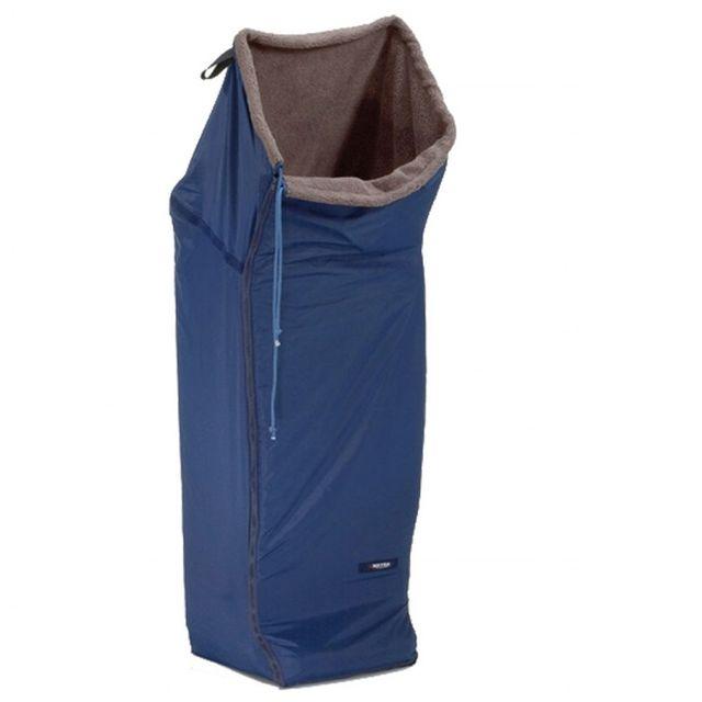 Meyra Rollstuhl-Schlupfsack blau Standard Webpelz Außenmaterial aus wasserabweisendem Nylongewebe