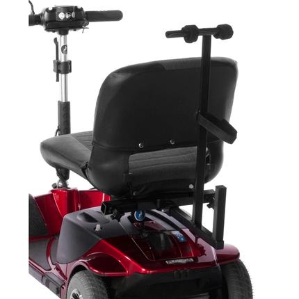 Rollatorhalterung Trendmobil einfach und komfortabel vom Scooter zum Rollator