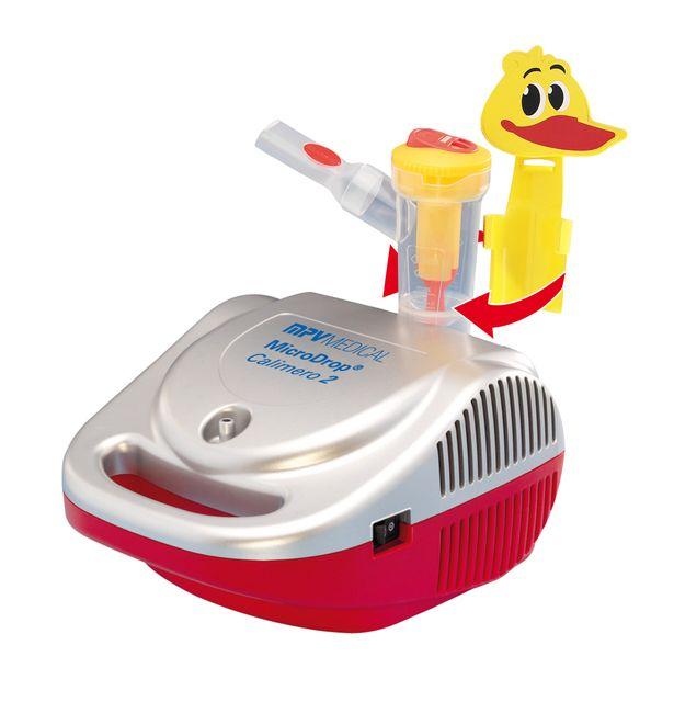 Inhalationsgerät MPV MicroDrop Calimero 2 Professionelles Inhaliergerät für Kinder