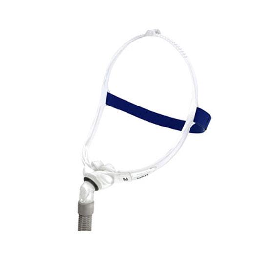 Mirage Swift-fx Nasenpolstermaske, CPAP ResMed Nasenmaske zur Schlafapnoetherapie, 3 Nasenpolster in den Größen (S,M,L)