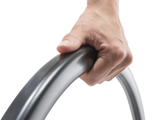 Greifreifen Carbolife Curve L, L-Profil-Form mit maximaler Grifffläche für Hand & Daumen, für Alber e-motion M25 (nur Bestellung als Aufpreis zusammen mit neuem E-Motion möglich)