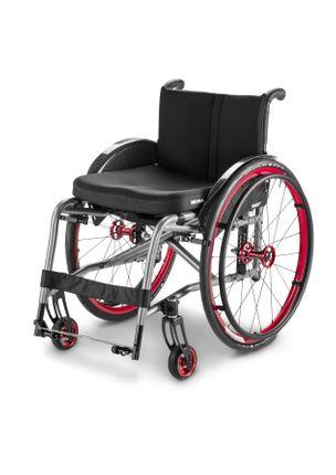 Meyra Aktivrollstuhl Smart F / 2.360 ihr individuell anpassbarer Adaptiv-Rollstuhl mit integrierten Beinstützen