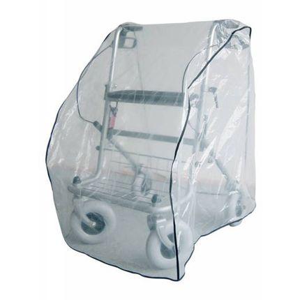Schutzhaube für Rollatoren schützt vor Wind und Wetter 001