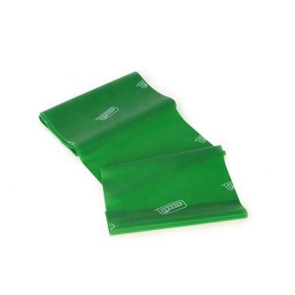 SISSEL Fitband 15 cm x 2,5 m, grün (stark), für Fitness und Therapie