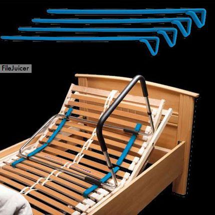 Rehastage Gleiter für Bettgriffe verhindert Einsinken des Bettgriffs