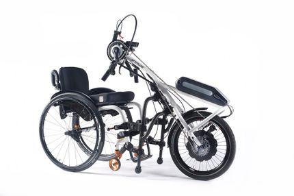 Sopur Handbike ATTITUDE Hybrid Das E-Bike für den Rollstuhl!