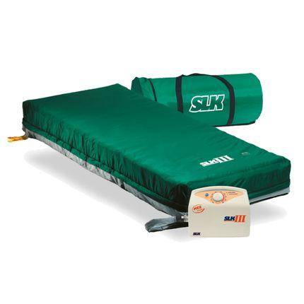SLK III Wechseldruckmatratze, hochzellige Anti Dekubitus Matratze bis Grad 3, bis 195 kg,