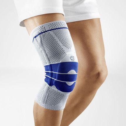 Bauerfeind Genutrain Comfort Titan Knie-Bandage, Aktivbandage zur Entlastung und Stabilisierung, neu mit Omega-Pelotte