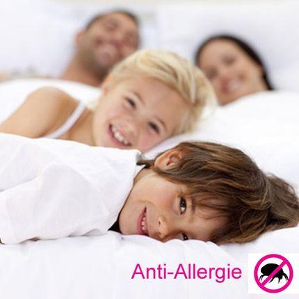 Anti-Allergie-Matratzenbezug Comfort & Best, milbendicht, allergendicht, atmungsaktiv