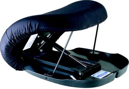 Katapultsitz Uplift Original - automatische Aufstehhilfe, übernimmt bis zu 80% Ihres Gewichts, mit Viscoschaumkissen