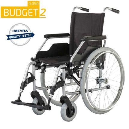 Meyra Rollstuhl Budget 2 - der schmalste Standard-Rollstuhl seiner Klasse! bis 130kg belastbar