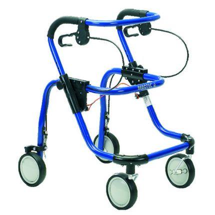 Rebotec Fox Rollator Jugendliche Rollator blau Aluminium Rollator für Jugendliche