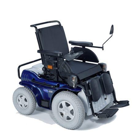 Invacare G50 Elektro-Rollstuhl, der elektrische Rollstuhl für den Innen- und Aussenbereich, bis 150kg, 6-10 km/h,