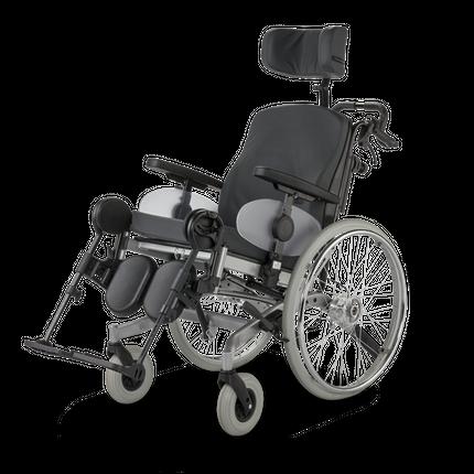 Meyra Solero Light Rollstuhl, Multifunktionsrollstuhl, Pflegerollstuhl, bis 130 kg