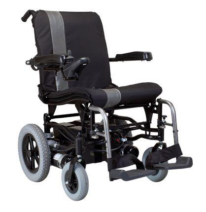 Karma Ergo Traveller Elektro-Rollstuhl, werkzeuglos zerlegbar, ideal für die Reise & Transport. Ein einfacher elektrischer Rollstuhl/ E-Rollstuhl